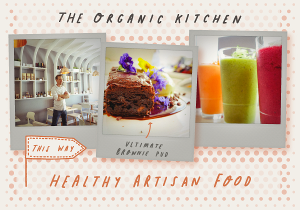 Read about The Organic Kitchen