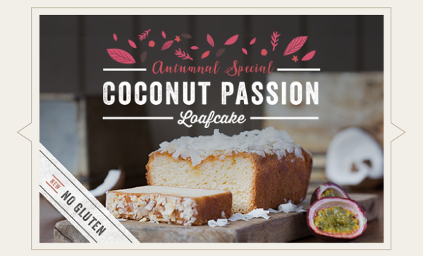 Buy Our New Coconut Passion Loafcake