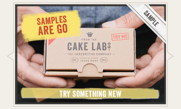 Find out about cakes samples choices on checkout